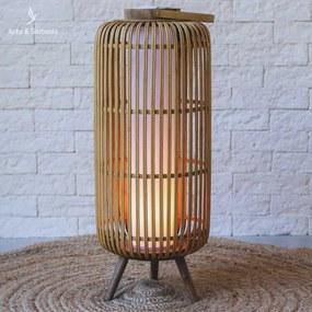 Luminária de Chão | Fibra Natural