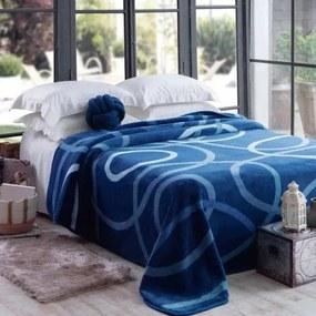 Cobertor Casal Jolitex -Kyor Plus Avalon Azul