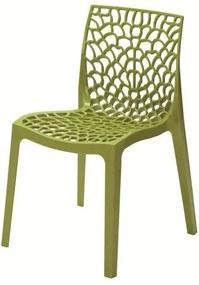 Cadeira Gruver Polipropileno Verde - 23075 Sun House