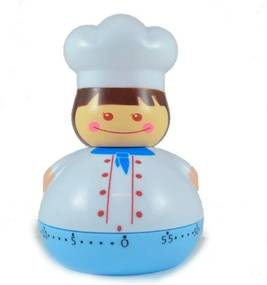 Timer De Cozinha Chefe 60m - Azul