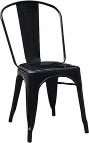 Cadeira Dark Fine Curves em Ferro - Urban - 85x45 cm