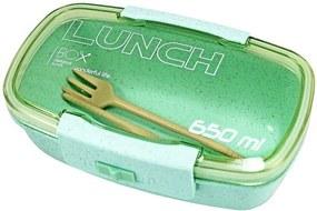 Pote Marmita Lunch Box 650ml - Verde - Jacki Design