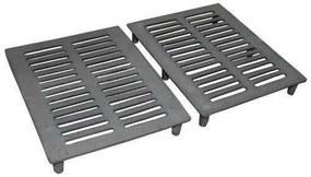 Jogo De Grelhas P/ Carvão P/ Apolo Mini Industrial (Ferro Fundido)