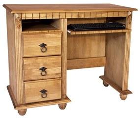 Escrivaninha Sonho Viola com Teclado e Gaveta - Wood Prime TA 1104104