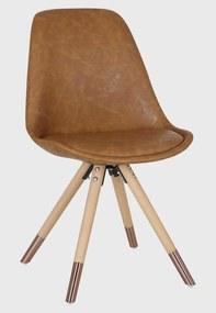 Cadeira Luana Pu Marrom Rivatti