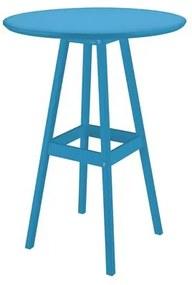 Mesa de Madeira Pub Alta Tramontina 65 x 107 cm Azul 91452107