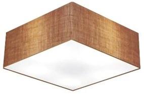 Plafon Para Corredor Quadrado SC-3001 Cúpula Cor Palha