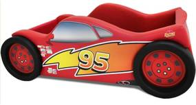 Mini Cama Speed Flash - Cama Carro Vermelho
