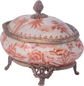 Caixa de Porcelana e Bronze III – Imperial