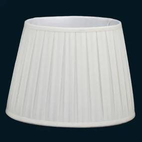 cúpula PLISSADA creme 48cm Bella HU024