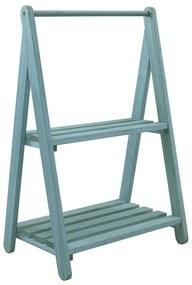 Sapateira de Entrada Alecrim com Prateleira Azul - Wood Prime MR 35415