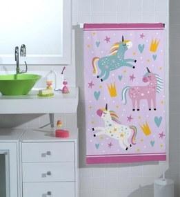 Toalha de Banho Infantil Unicórnio (65x115cm)