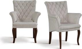 Cadeira de Jantar Chloe Botonê com Braços