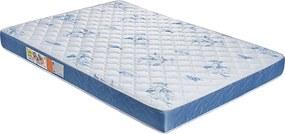 Colchão De Casal Nobreza D26 188X128X12 Branco C/Azul Celiflex