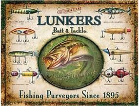 Placa Lunkers Fishing