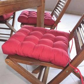 Assento para Cadeira Futton Confort - 40 x 40 cm Vermelho