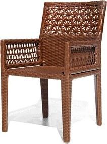Cadeira Safira com braço - Área Externa