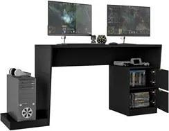 Mesa para Computador Notebook Gamer BMG 01 Preto - BRV