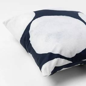 Almofada Quadrada La Stampa Bolhas – Azul Marinho