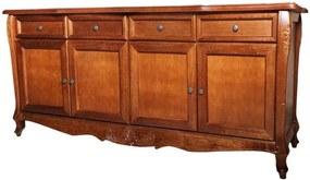 Balcão Luis XV Entalhado - Wood Prime KL 16301