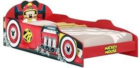 Cama Infantil Mickey Aventuras Sobre Rodas Disney Plus Vermelho - Pura Magia