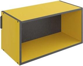 Nicho Retangular Decorativo Lyam Decor Mov Amarelo