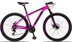 Bicicleta Aro 29 Quadro 15 Alumínio 21v com Suspensão e Freio Disco Or