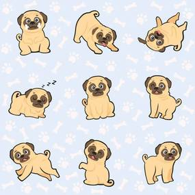 Papel de Parede Pug Boy