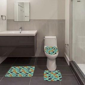 Jogo de Banheiro Borboleta VerdeÚnico