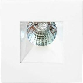 Plafon Embutir Aluminio Branco 6cm