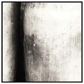 Quadro Decorativo Abstrato Foto A Gruta Preto e Branco - CZ 44043