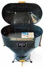 Churrasqueira a Bafo Gas ou Carvão Apolo 10 Com Espetos Esmaltada - Weber