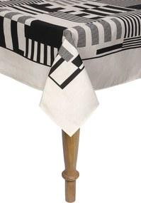 Toalha De Mesa Retangular Karsten Sempre Limpa Mosaico 160x220Cm