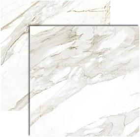 Porcelanato Master Calacata Premium Lux Polido Retificado 121x121cm - P121000 - Embramaco - Embramaco