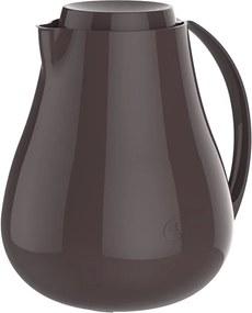 Bule Térmico Café Água Chá Sonetto 750ml - Marrom