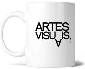 Caneca Artes visuais dot