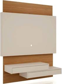 Painel Noruega 1,40 MT cor Off White com Freijo - 41393 Sun House