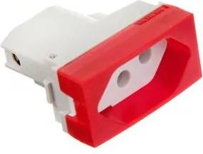 Módulo Tomada Vivace 2P+T Nbr 20A Vermelha 5UB99308 Siemens