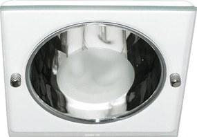 Luminária de Embutir Quadrada Branca 1xE27 Bonin 4086Bc