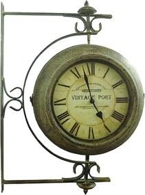 Relógio Estação Giratório Vintage