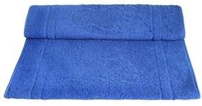 Toalha De Piso Camesa -Pegada Azul Escuro