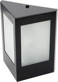 Arandela Aluminio Vidro Ip65 - CAFÉ