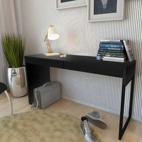 Mesa Para Escritório Home Office Lyam Decor Work Preto