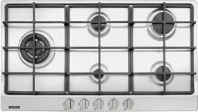 Cooktop a Gás Inox Penta Plus 5 Queimadores Safestop 90cm - 94752/104 - Tramontina - Tramontina