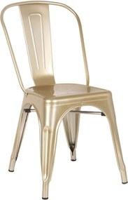 Cadeira Iron Dourado Rivatti Dourada