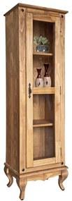Estante Clássica 1 Porta de Vidro Regato - Wood Prime Biomóvel 962293