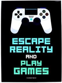 Quadro em Metal Escape Reality And Play Games