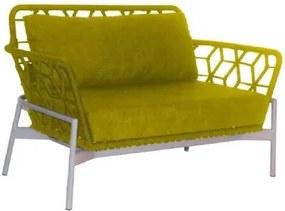 Sofá de Corda Thainá Amarelo