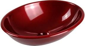 Cuba de Apoio Oval 37 cm (Vermelha Perolizada)
