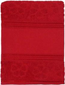 Toalha de Banho Appel Ponto Russo - Aquarela p/Pintar Vermelho